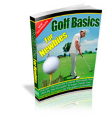 Product picture Golf Basics For Newbies/Golf For Beginners
